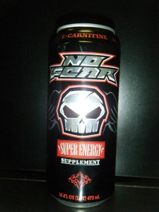 No Fear Energy Drink RED