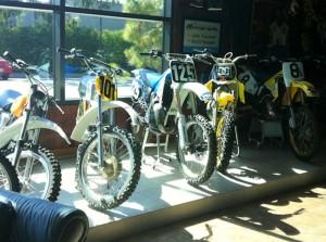 歴代バイク達。