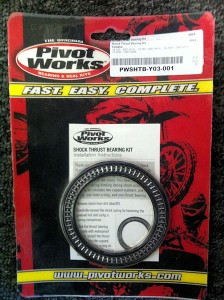 PIVOT WORKS SHOCK THRUST BEARING KIT