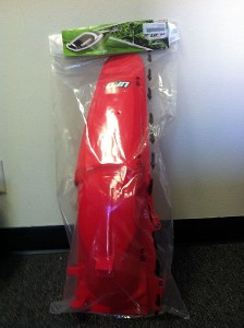 UFO PLASTICS REAR FENDER